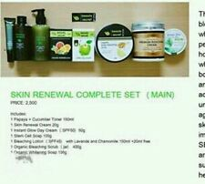 100% ORGANIC COMPLETE FACE & BODY BLEACHING SET (jar)