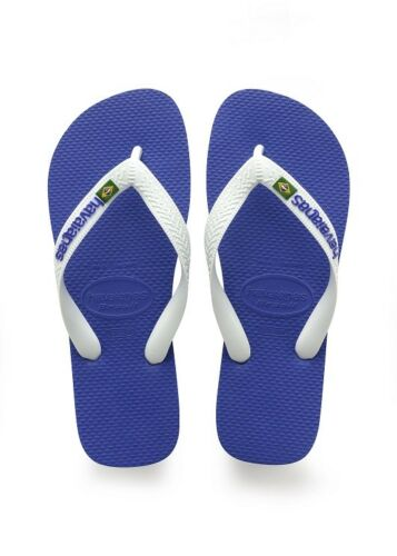 3d5318b48 10 of 12 Havaianas Brazil Logo Top Mix Flip Flops Brasil Mens Womens Beach  Summer Shoes
