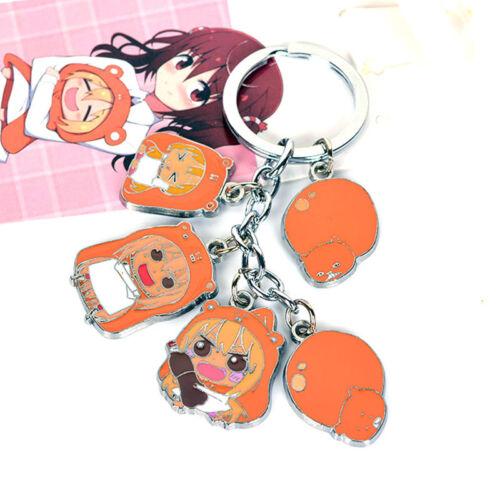 Umaru-chan Pendant Keychain Cosplay Zipper Ornament Charm Keyring Anime Himouto