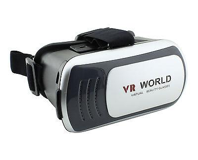 3D Occhiali VR Display Realtà Virtuale HMD Universale per iOS Android Samsung