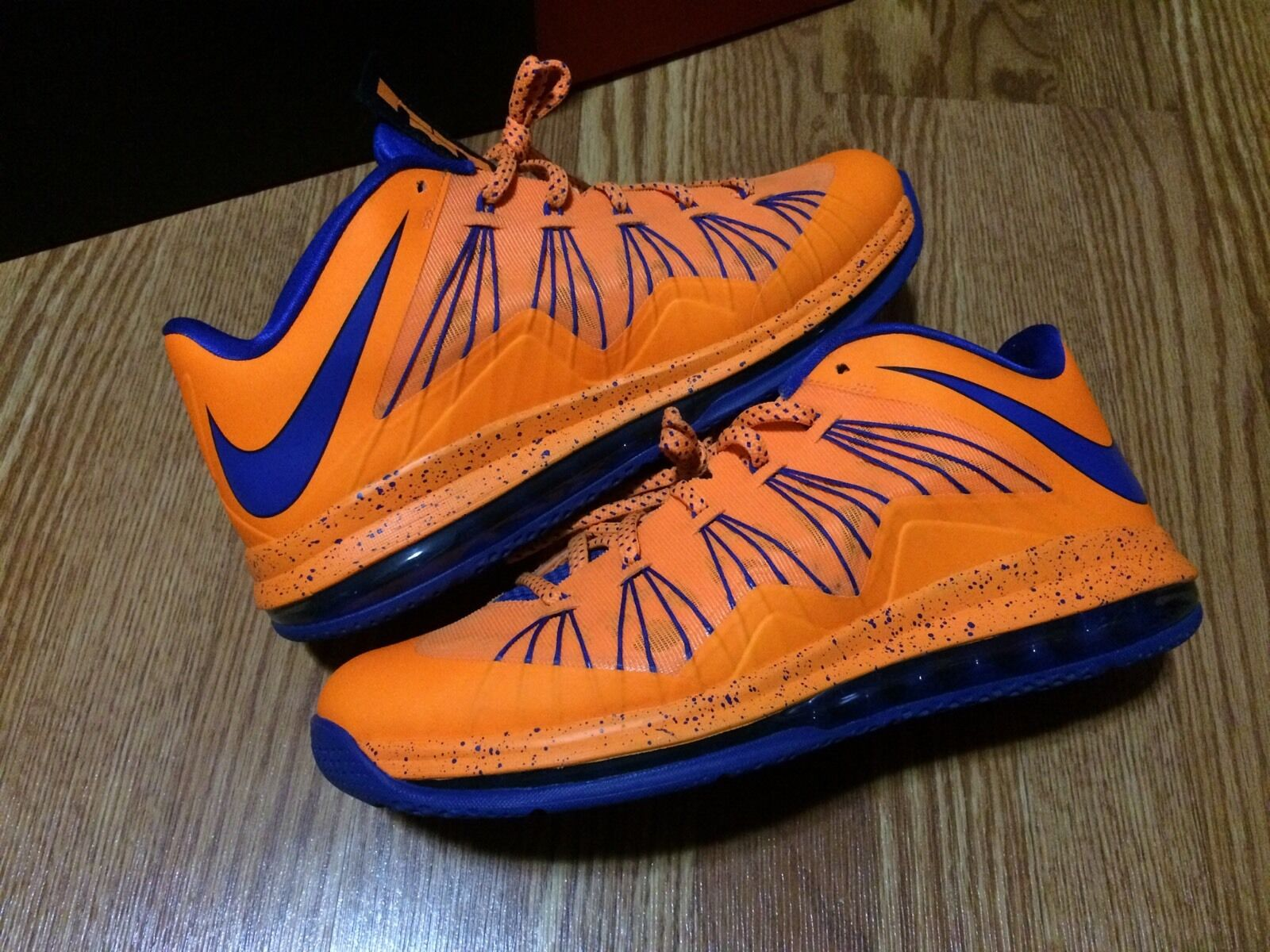 NIKE AIR Max Lebron X 10 Low Cavs Sz 12