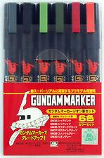 GSI Creos Mr. Hobby GMS-108 Gundam Marker Geon Set of 6 Pen