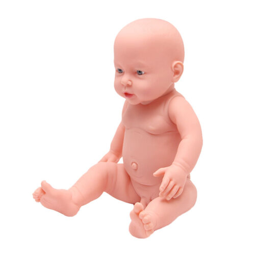 """Baby Lovely Doll 15.75"""" Soft Silicone Vinyl Real Life Baby Reborn Newborn Baby"""