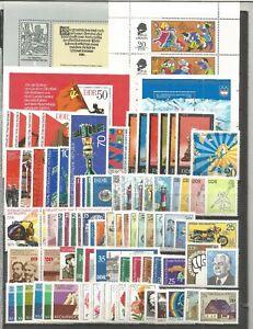 DDR-postfrisch-1975-kompletter-Jahrgang-mit-Bloecke