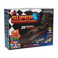 Afx 4 Lane Super International Megag+ Ho Slot Car Race Set Mega G+ Afx21018