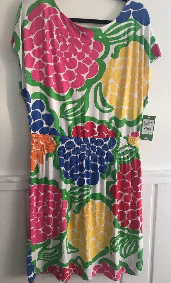 NWT - Lilly Pulitzer Sadie Dress Multi Zinny - XL - RV  148