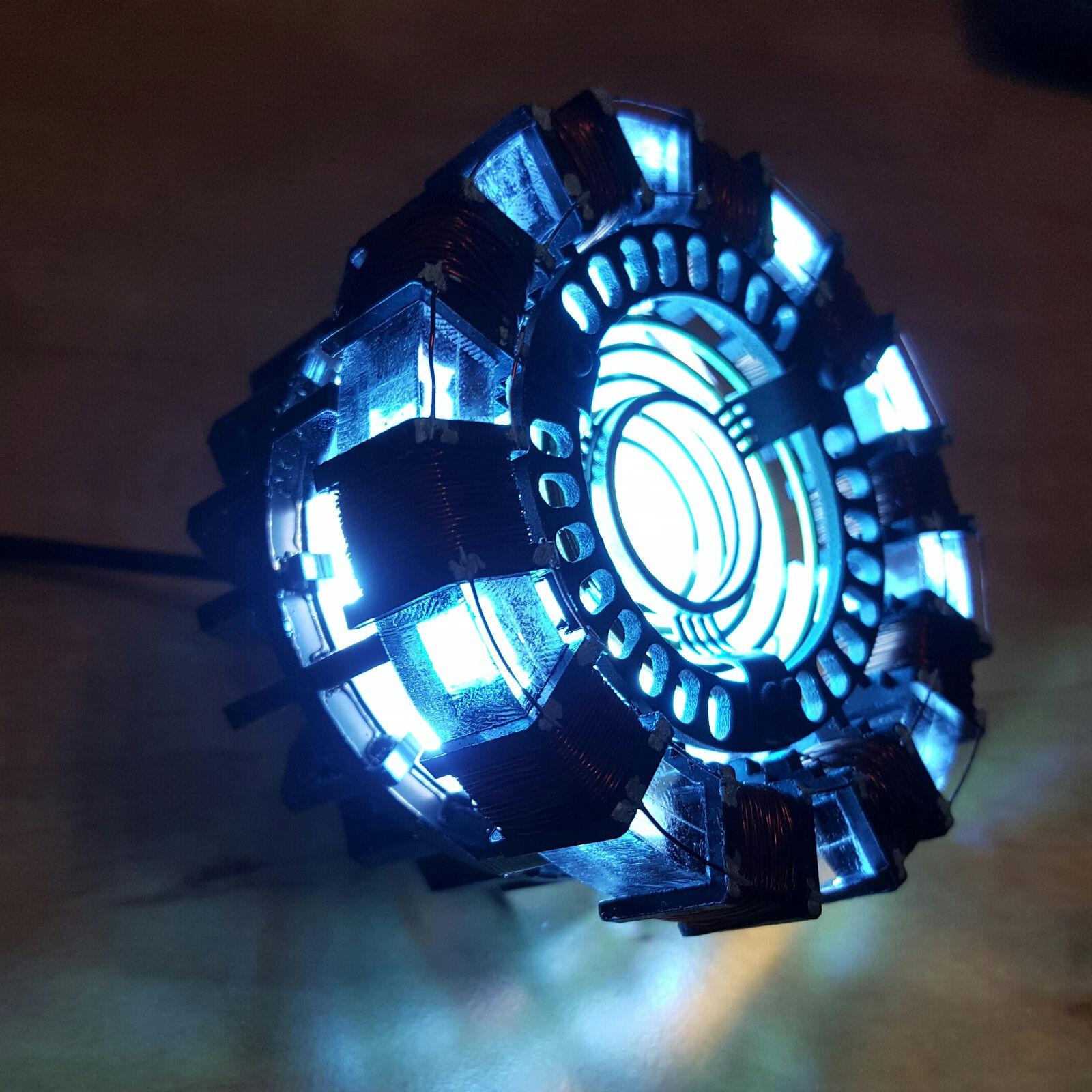 Marvel -  the avengers  iron man tony diy - reaktor - lampe kit oder builted sammler