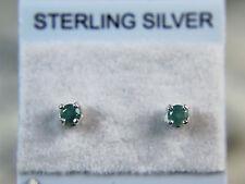 ALEXANDRITE - Natural Color-change Petite .925 Sterling Stud Earrings 0.15ctw