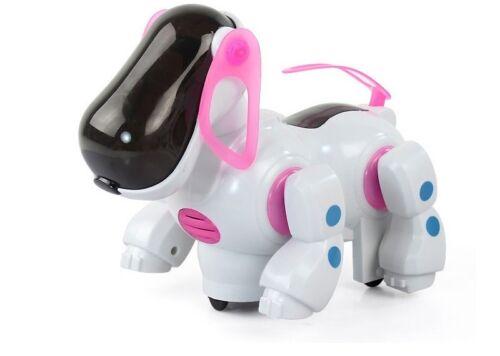 Beulen und Runden Bellt,Blinkleuchten Musik Roboter Hund Runs um
