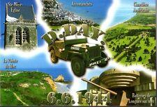 WW2 - CP -  D.DAY 6.6.1944 - Jeep