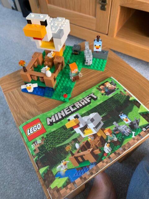 Lego 21140 Minecraft le poulailler Construction Set