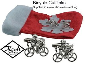 Secret Santa Stocking Fillers gifts for Men Bicycle Cycling Man Cufflinks - Godstone, United Kingdom - Secret Santa Stocking Fillers gifts for Men Bicycle Cycling Man Cufflinks - Godstone, United Kingdom