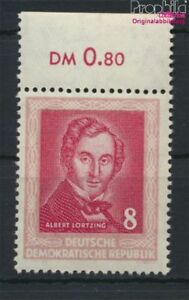 DDR-309Y-II-senkrechte-Papierstruktur-postfrisch-1952-Haendelfest-Halle-8927956