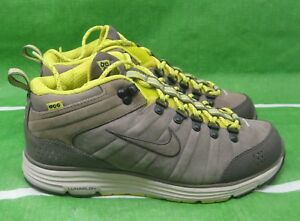 new NIKE ACG LUNAR MACLEAY BOOT IRONSTONE OLIVE VOLT 415342-030 Size ... 85a7cfcbe361