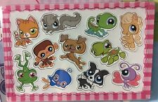 LITTLEST PET SHOP SET OF 4 MAGNET SCENES PARTY SUPPLIES FAVORS