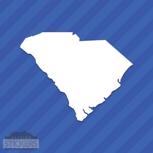 South Carolina SC State Outline Vinyl Decal Sticker