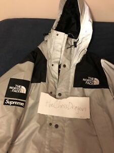 8bb7834c8 Details about Supreme x North Face 3M Mountain Parka Reflective Jacket size  Medium w/ tags