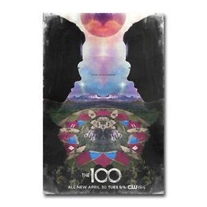 20A124 Hot New The 100 American Hot TV Series Art Poster Silk Deco 12x18 24x36