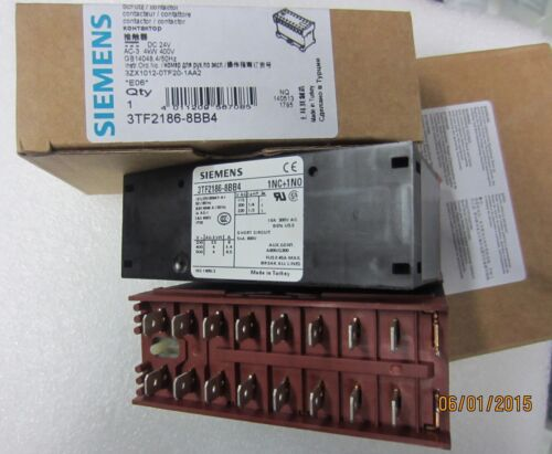 1pcs New Siemens DC Contactor 3TF2186-8BB4