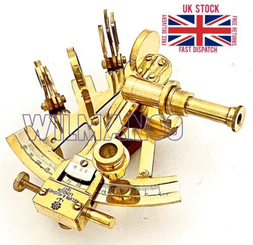 Messing Marine Sextant Messing Schiff Sextant Kelvin /& Hughes London