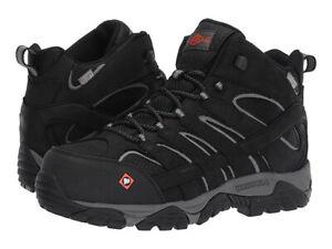 Merrell-Men-039-s-J05241-Moab-Vertex-Mid-Waterproof-Composite-Toe-Safety-Work-Boots