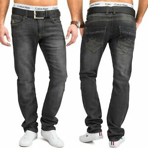Neu-Herren-Jeans-Hose-Jogging-Denim-Stretch-Full-Flex-Straight-Fit
