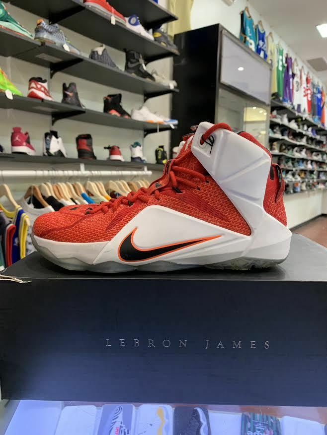 Nike Lebron XII 684593 601 Heart of a Lion University Red Black-White-Hyper 10