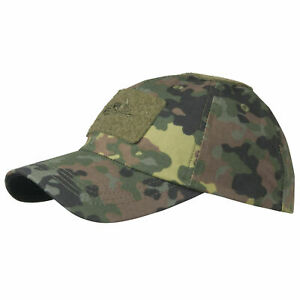 ded9f36aa Helikon Tactical Mens Baseball Cap Army Combat Patrol Uniform Hat Flecktarn  Camo