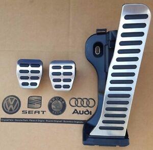 VW-Passat-3C-B6-B7-original-Pedalset-CC-Pedale-Pedalkappen-pedal-cover-pads-caps