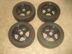 AZEV-M-Classico-Felgen-8-5Jx17-Raeder-255-50-ZR17-Reifen-VW-T5-BMW-Winter-M-amp-S