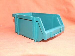 Contenitori Componibili Plastica.Dettagli Su Contenitore Componibile Impilabile In Plastica Verde Mobil Plastic N2k
