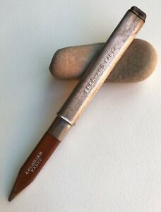 Vintage-Eberhard-Faber-Pencil-Early-Adjustable-Eraser-Pocket-EDC-Model-USA