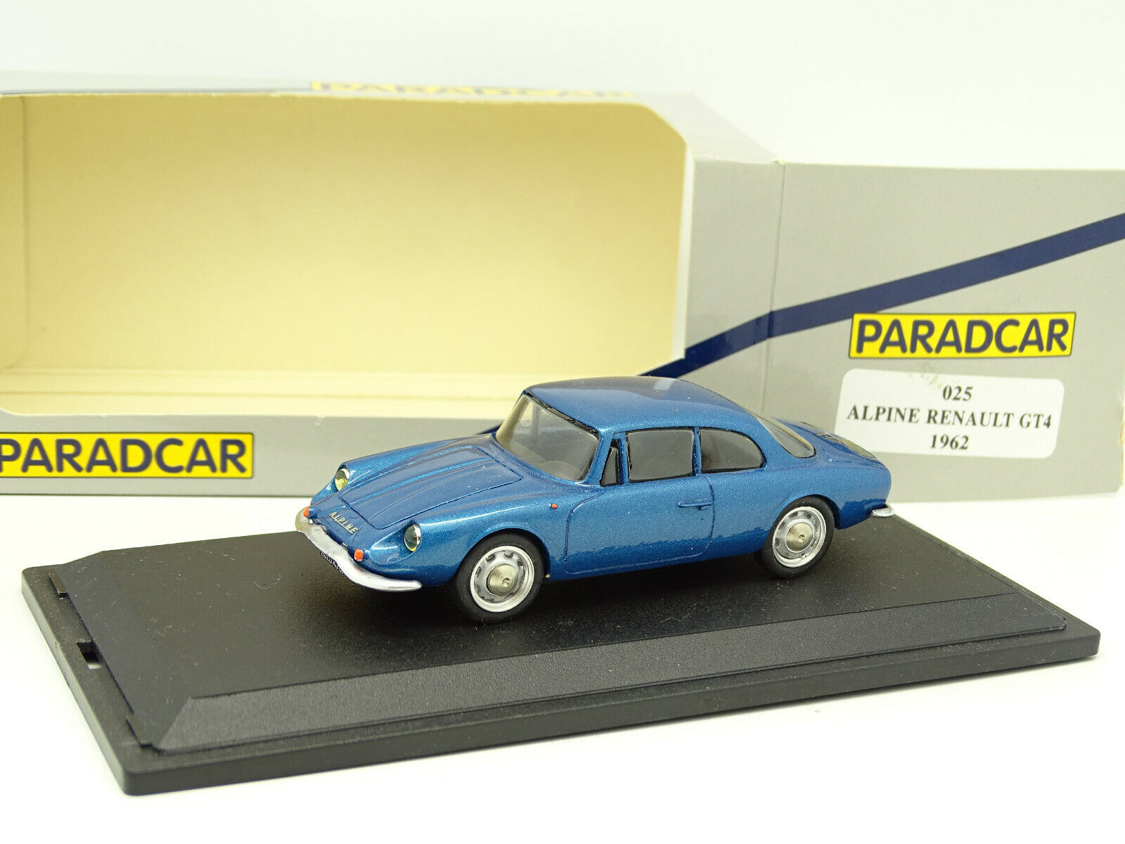 Paradcar 1 43 - Alpine Renault GT4 1962 bluee