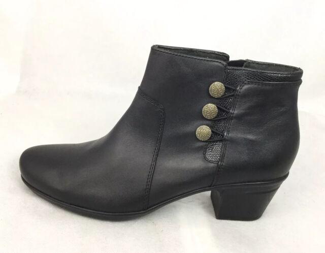 Ladies Clarks Smart Ankle Boots Emslie
