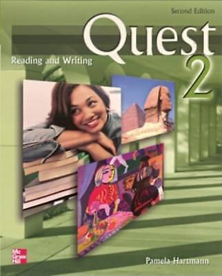 Quest Level 2 Reading and Writing Student Book by Hartmann, Pamela (Paperback bo