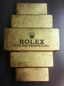 Wandleuchte-Rolex-Lampe-Gold-Day-Date-Submariner-Daytona-GMT-Master-Yacht-Bar