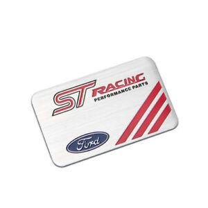 Details About Ford St Racing Performance Parts Emblem Badge Aluminum Sticker