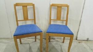 2 chaises des annnées 50, scandinaves