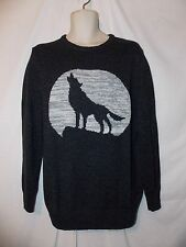 mens urban pipeline crew sweater  L nwt $50  howling gray wolf