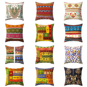 Am-CO-Vintage-Bohemian-Ethnic-Throw-Pillow-Case-Home-Sofa-Decor-Cushion-Cover