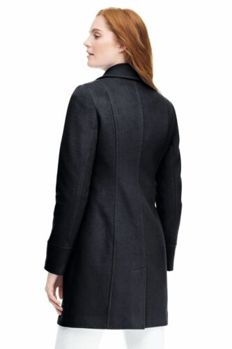 18 10 14 8 $189 NWT Lands End Womens Wool Car Coat 6