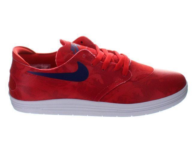 Mens Nike Lunar Oneshot SB WC World Cup Light Crimson Deep Royal Bleu 645019-604