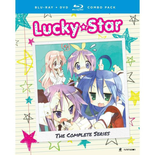 Lucky Star Complete Series Ova Bluray Dvd Combo R1 Funimation Anime For Sale Online Ebay