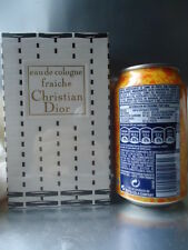 CHRISTIAN DIOR EAU DE COLOGNE FRAICHE VINTAGE 1960s HUGE 8oz PERFECT SEALED BOX