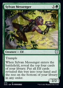 Sylvan Messenger Magic Origins Uncommon EN NM MTG