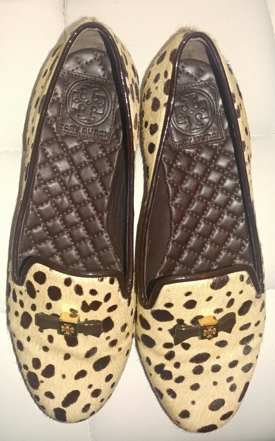 AUTHENTIC TORY BURCH PONY HAIR 7