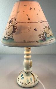 "Winnie The Pooh Lamp Bee Nursery with Lamp Shade 16"" Tall"