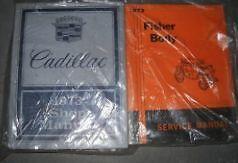 1973-GM-Cadillac-Deville-Sevilla-Fleetwood-Eldorado-Manual-Del-Taller-De-Servicio-Set-W