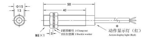 1 PC LJ8A3-1-Z//AY Inductive Proximity Sensor Detection Switch PNP NC DC 6-36V