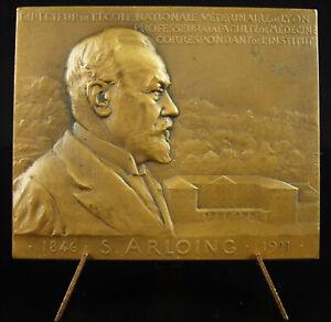 Medal-Veterinary-Saturnin-Arloing-1911-P-Richer-Vaccination-Bobbin-Cotton-Reel